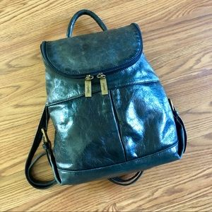 Bags - HOBO International Small Leather Backpack